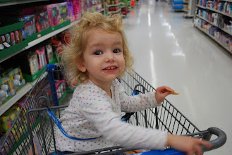 Photo: First things first, snacks! Got to keep her happy!