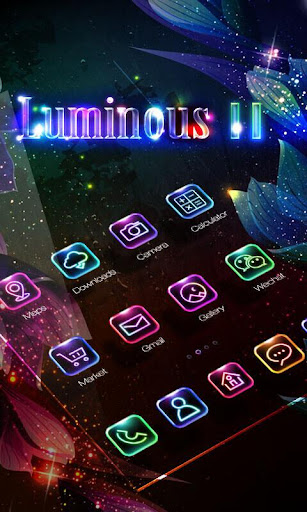 LuminousⅡGO Launcher Theme