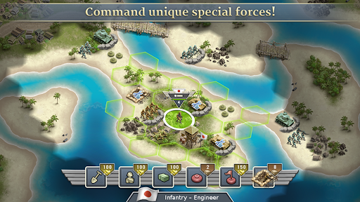1942 Pacific Front - a WW2 Strategy War Game 1.7.2 screenshots 4