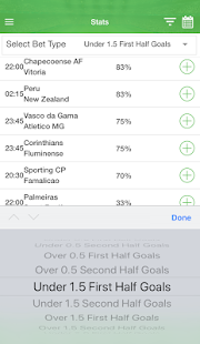 Bettracks - The Best Betting Stats App - náhled