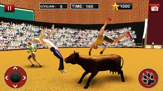 Bull Fighting Angry Bull Street Escape - náhled