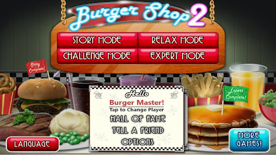 Burger Shop 2 – Crazy Cooking Game with Robots APK for Bluestacks