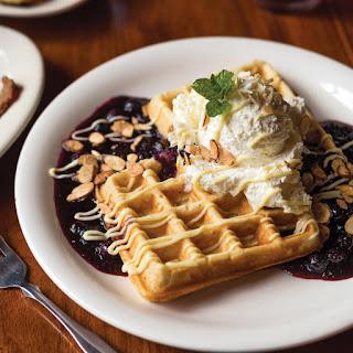 Lemon-Blueberry Waffles Recipe