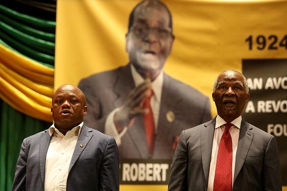 Mbeki sings Mugabe's praises at Durban memorial service