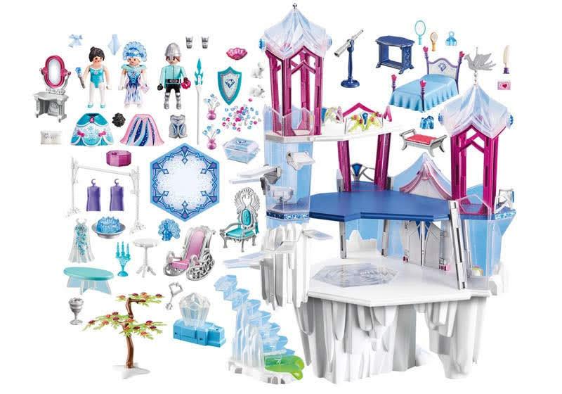 Contenido real de Playmobil® 9469 Palacio de Cristal