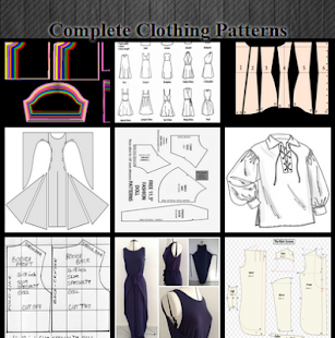Complete Clothing Pattern - náhled