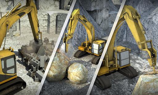 Hill Excavator Mining Truck Construction Simulator 1.2 screenshots 3