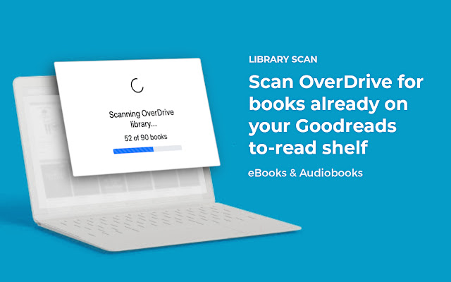 Library Scan: OverDrive + Goodreads
