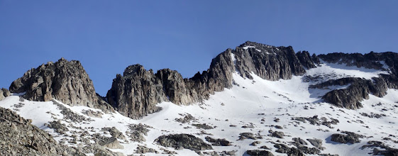 Photo: La cresta amb el Pico Maldito