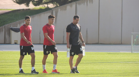 El Almería vuelve con una buena noticia