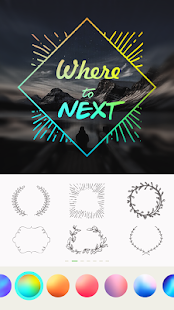 Text on pictures – Write words & text art on photo 6