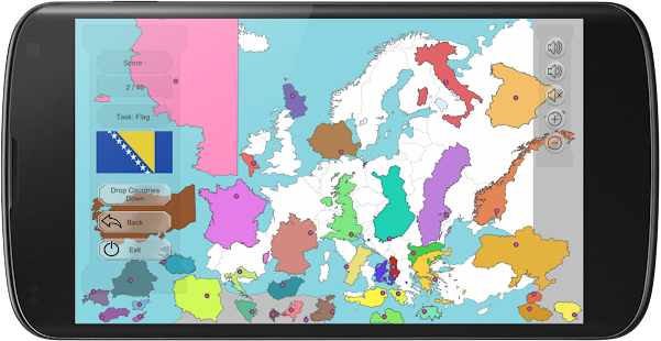 Europe map puzzle free android apps on google play europe map puzzle free screenshot thumbnail gumiabroncs Images