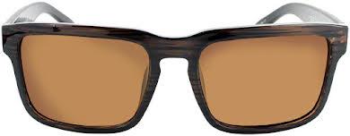 Optic Nerve ONE Mashup Polarized Sunglasses: Shiny Driftwood Demi with Polarized Brown Lens alternate image 1