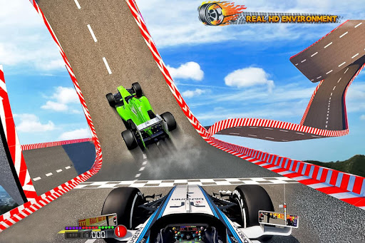 Formula Car Stunt  Race apkmr screenshots 8