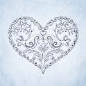 Cursive Script Silver Sticker Pack by Pomelo Tree icon