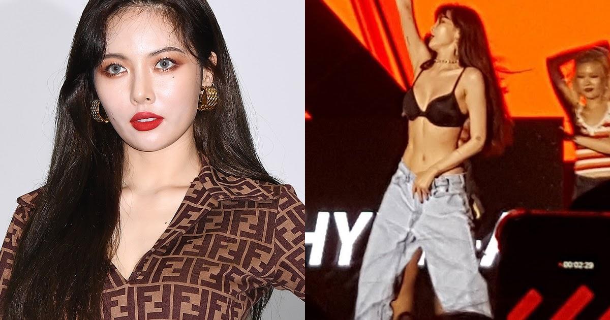 HyunA iar e virală, și nici nu e de mirare