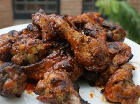 Super Hot And Sweet Ghost Chile Chicken Wings Recipe