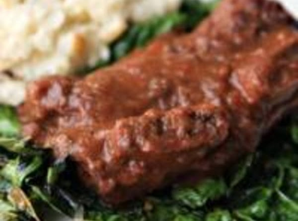 Short Ribs With Red Gravy Recipe