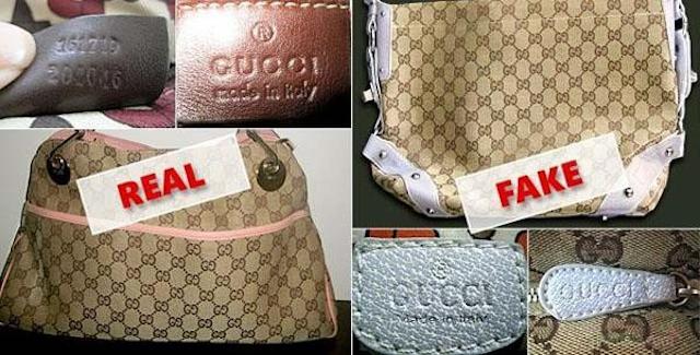 Các bạn có thể phân biệt túi Gucci thật giả bằng cách kiểm tra chất liệu túi