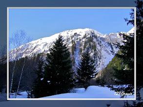 Photo: Premiers rayons sur le Petit Mont Blanc