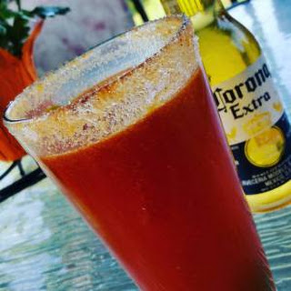 Low Sodium Michelada - A Bloody Beer