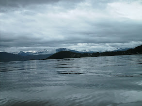 Photo: Looking back toward Wrangell.
