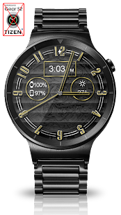 Polished Style HD Watch Face - náhled