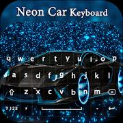 Neon Car keyboard Theme