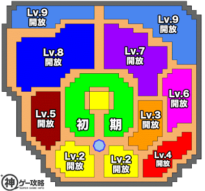 タウン全体図