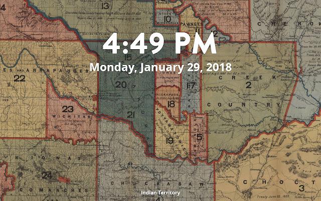 Oklahoma State Digital Collections Tab