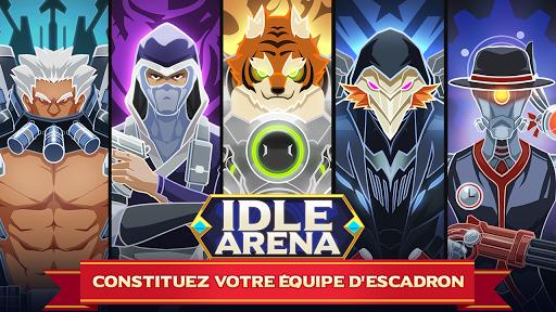 Télécharger gratuit Idle Arena - Bataille de héros clicker APK MOD 1