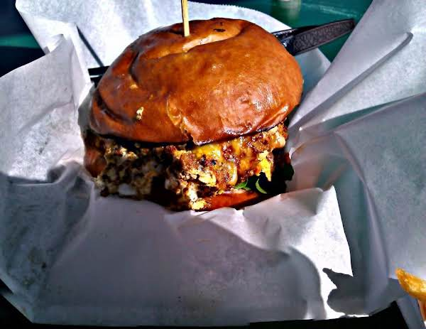 Didn't Have A Picture, So I Grabbed One Of The Internet That Closely Resembled The Burger When It's Done.