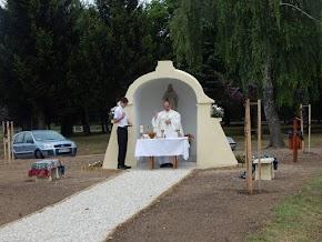Kápolna szentelés 2017. Jákó