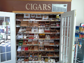 Photo: cigar shop