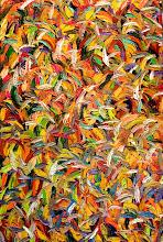 Photo: Autumn Leaves-Blackheath Medium - Oil Size 150cmx100cm Price-$600 Sold
