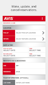 Avis Car Rental screenshot 0