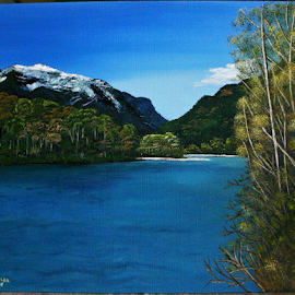 Squamish Valley by Reinilda Sissons - Painting All Painting