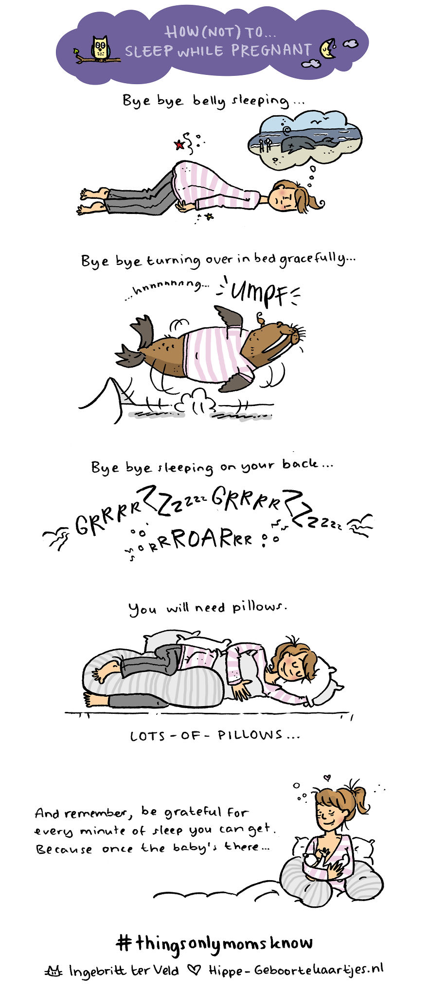 How (not) To Sleep While Pregnant