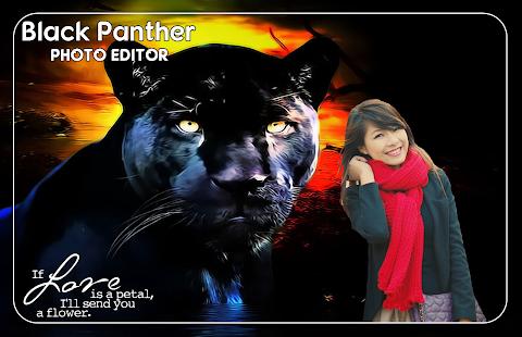 Black Panther Photo Editor - náhled