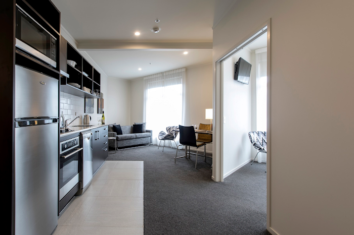 living space at Quest Whangarei