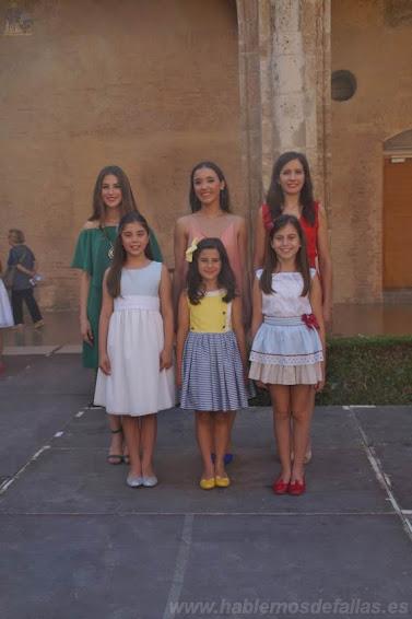 Entrevistas a Candidatas infantiles a Cortes de Honor. Pla del Reial - Benimaclet. #Elecció19