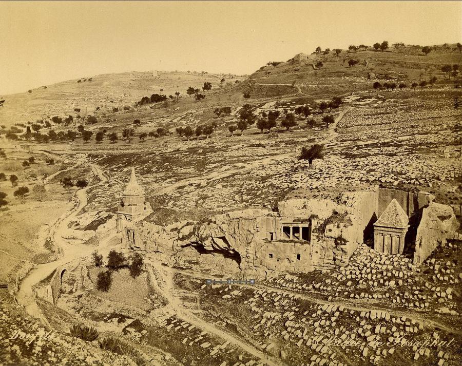 Кедронская долина. Старое фото.