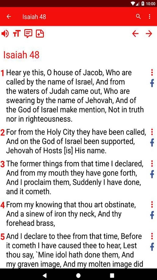 Christian Standard Bible- screenshot