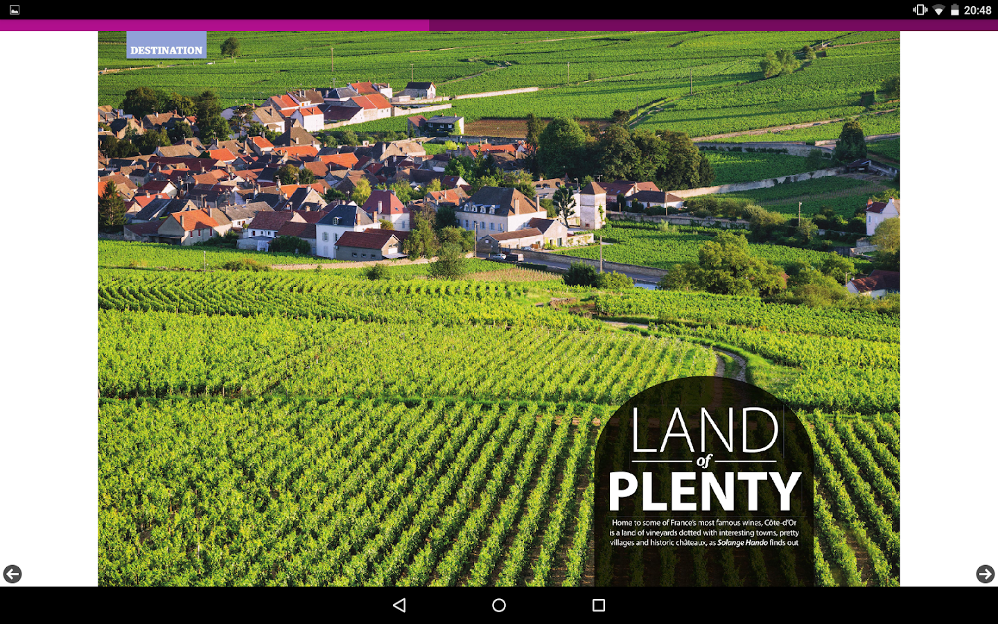 Living France Magazine- screenshot