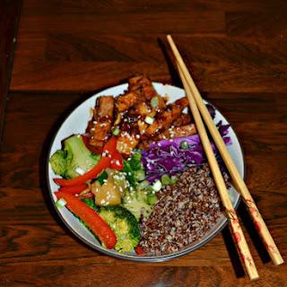 Korean BBQ Tofu Bowl