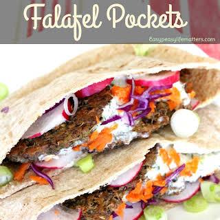 Baked Falafel.
