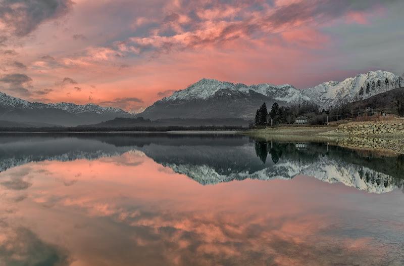 Lago di Santa Croce di vincenzo Lavorante