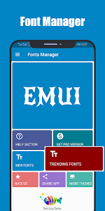 Fonts for Huawei Emui 4.4