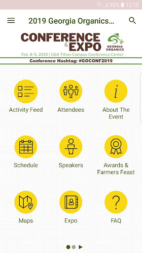 Screenshot for GO Conference App in United States Play Store