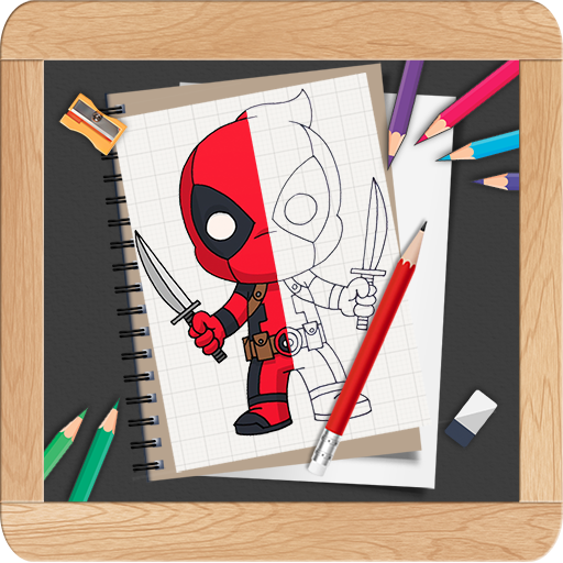 Learn To Draw Chibi Cute Superheroes Step By Step On Google Play Reviews Stats